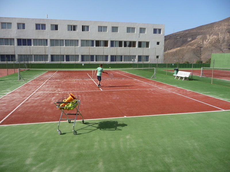 Campo tennis reti retificio italia